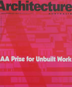 Prize for Unbuilt Work